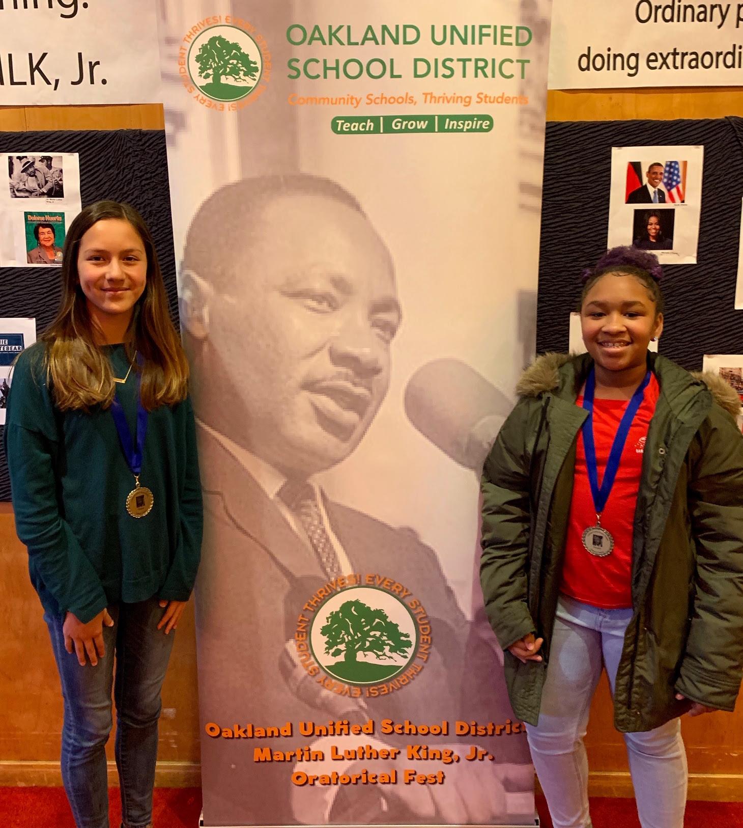 District Oratorical Winners!