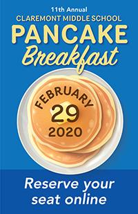 Mark Your Calendars for the 11th Annual Pancake Breakfast Fundraiser!